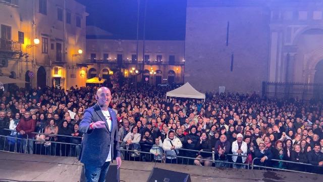 FESTA DI MONREALE, SHOW OFFERTO DA AMG GAS