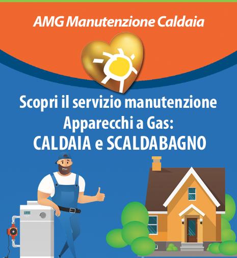Nuovo servizio AMG Manutenzione Caldaia