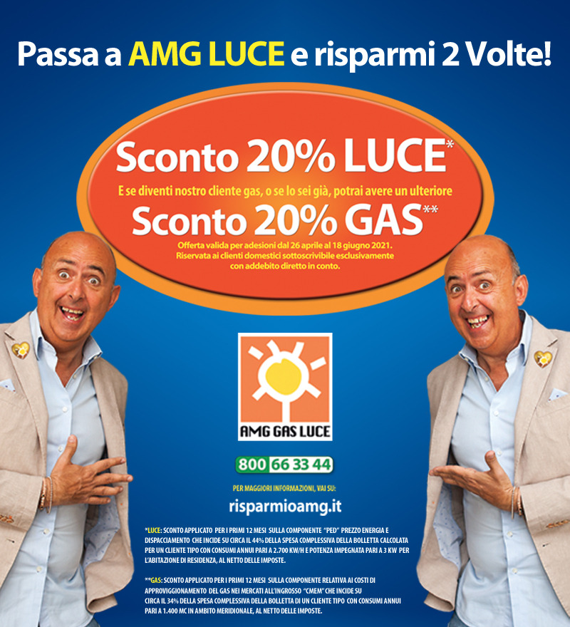 Quanto si risparmia con AMG Luce?